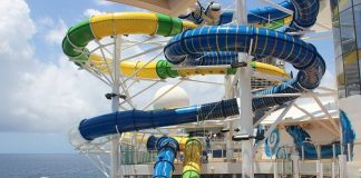 Brilliance of the Seas Water Slide
