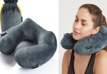 Right Travel Neck Pillow