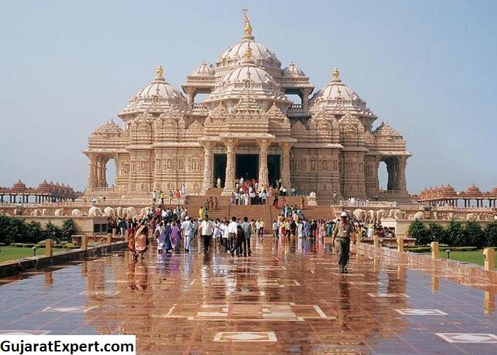 Gandhinagar Akshardham Temple Architecture