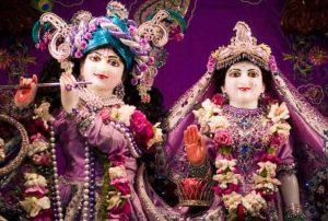 Lord Krishna and Rukmini Inside Rukmini Temple