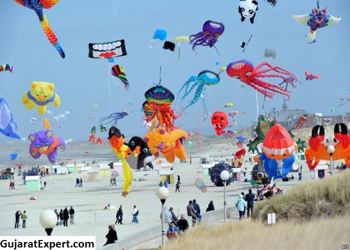 Kite Festivals in Gujarat- A Visual Treat Indeed