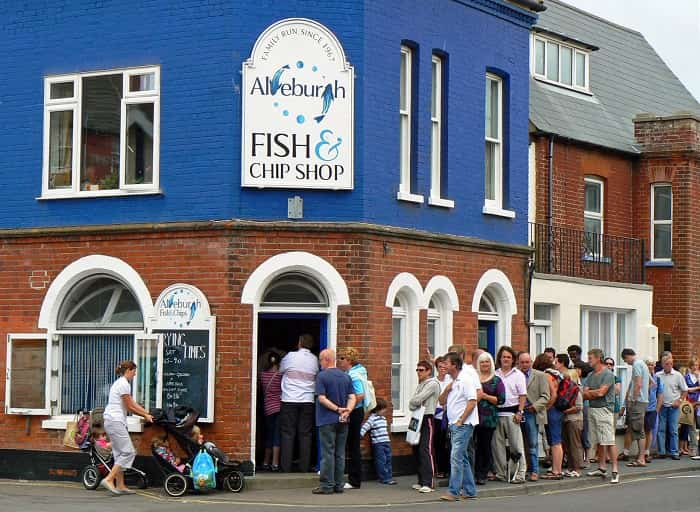 Aldeburgh Fish and Chips – 226 High Street, Aldeburgh, Suffolk, IP16 4BZ