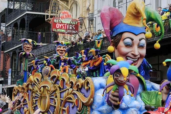 Mardi Gras, New Orleans, USA.