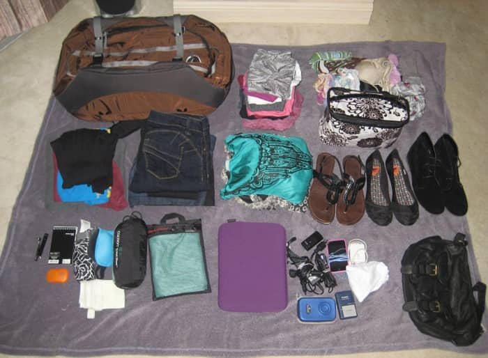 Pack Necessary Items