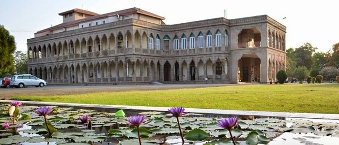 Royal Palaces of Gujarat - Nilambag Palace Hotel, Bhavnagar