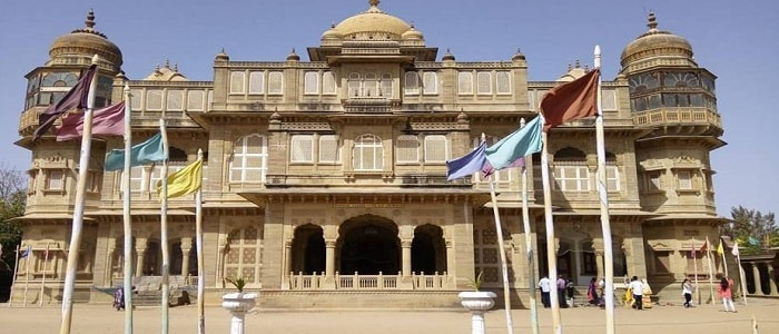 Royal Palaces of Gujarat - Vijay Vilas Palace, Mandvi