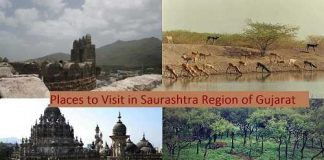 Places to Visit in Saurashtra Region of Gujarat