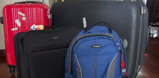 Backpack or Suitcase for Travelling