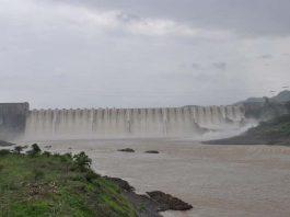 Sarddar Sarovar Dam on Narmada River
