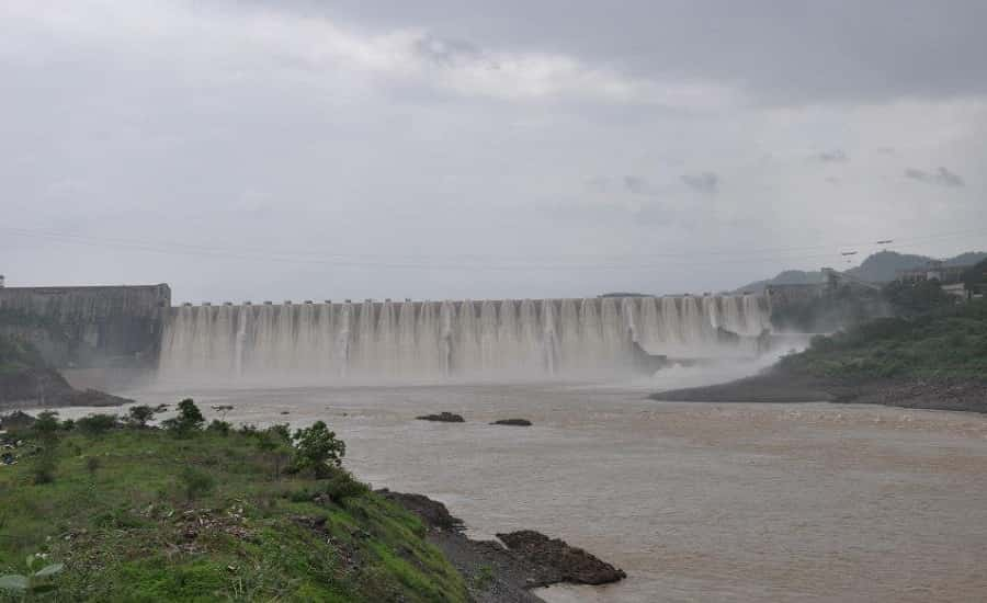 Sarddar Sarovar Dam on Narmada River