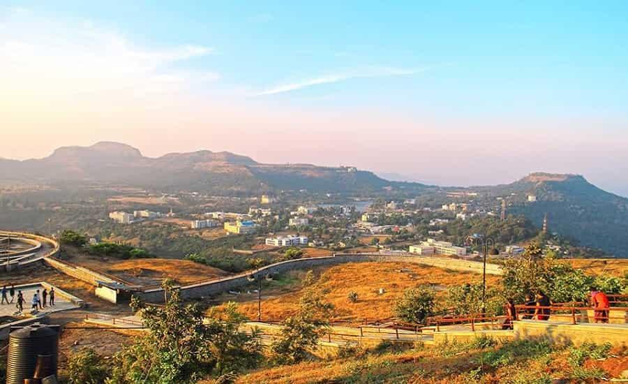 A View fron Sunrise Point - Saputara