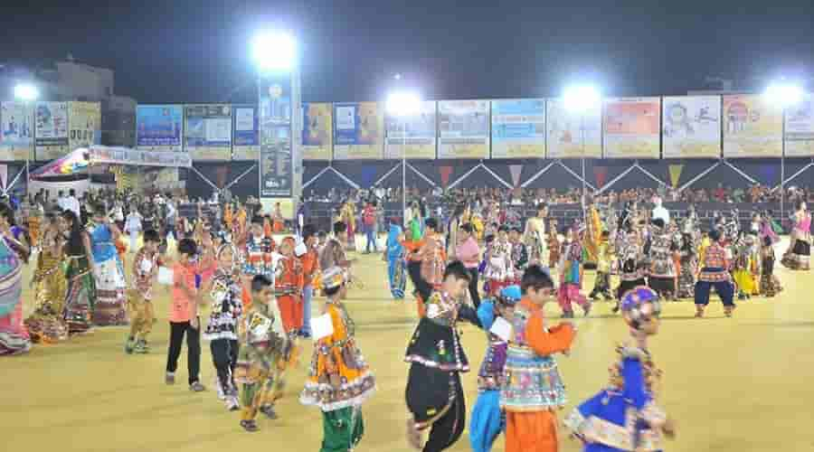 Rajkot dandiya celebration