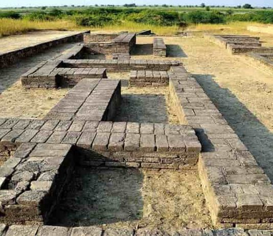 Excavation site of Saraswati Indus Civilization, lothal