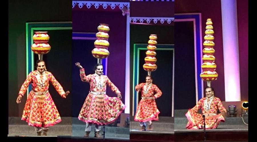 Bhavai pots Dance