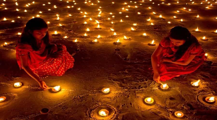 Diwali celebration in Rajkot