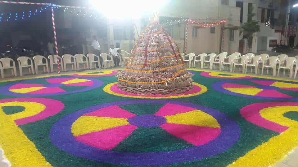 Holi Decoration Rajkot