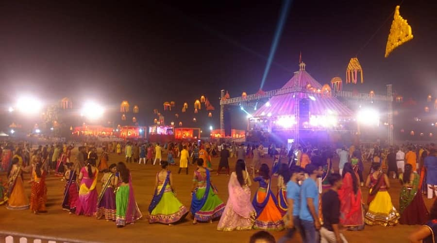 Navlakhi Garba Ground