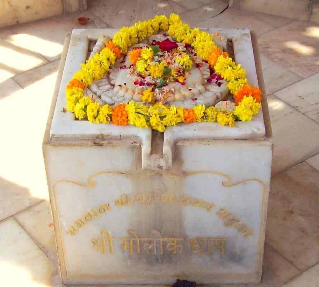 Lord Krishna's feet, Goloka Dham, Somnath