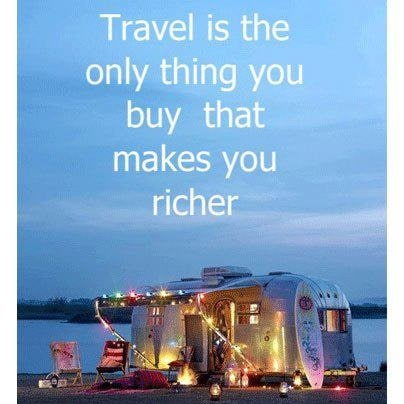 use tax refund to travel