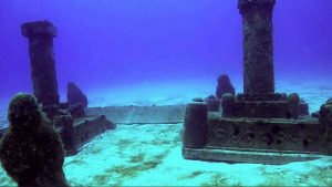 Dwarka underwater city