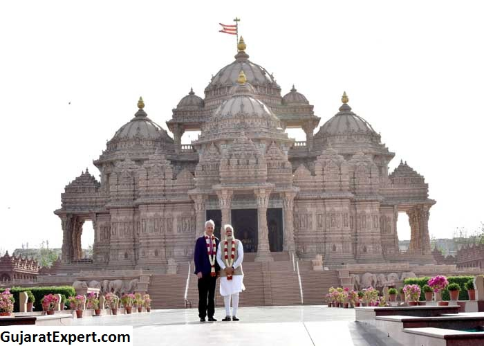 Timings of Akshardham Temple in Gandhinagar