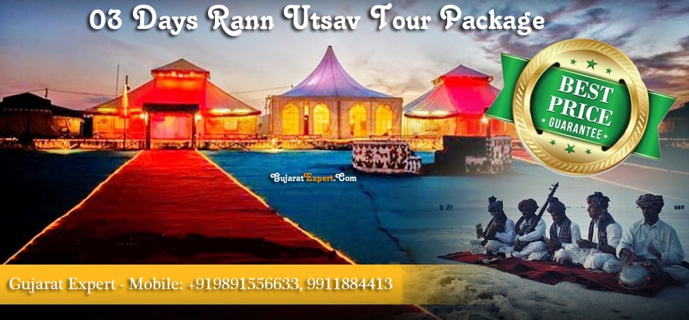 3 Days Rann Utsav Tour