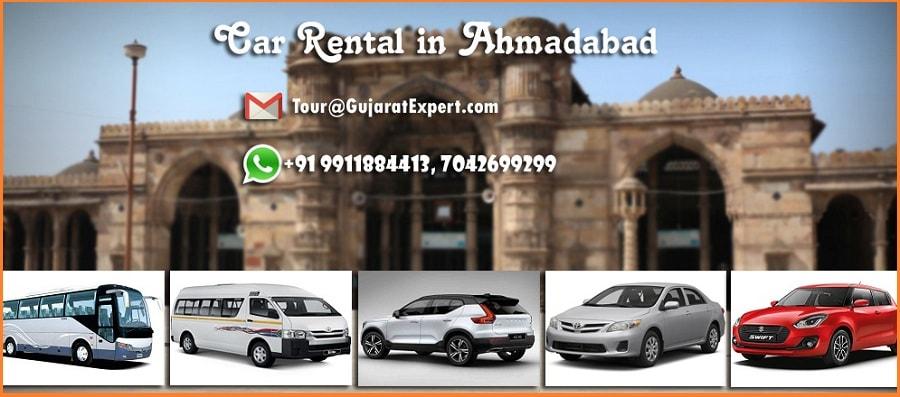Car Rental in Ahmadabad