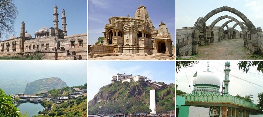 Tourist Places near Pavagadh